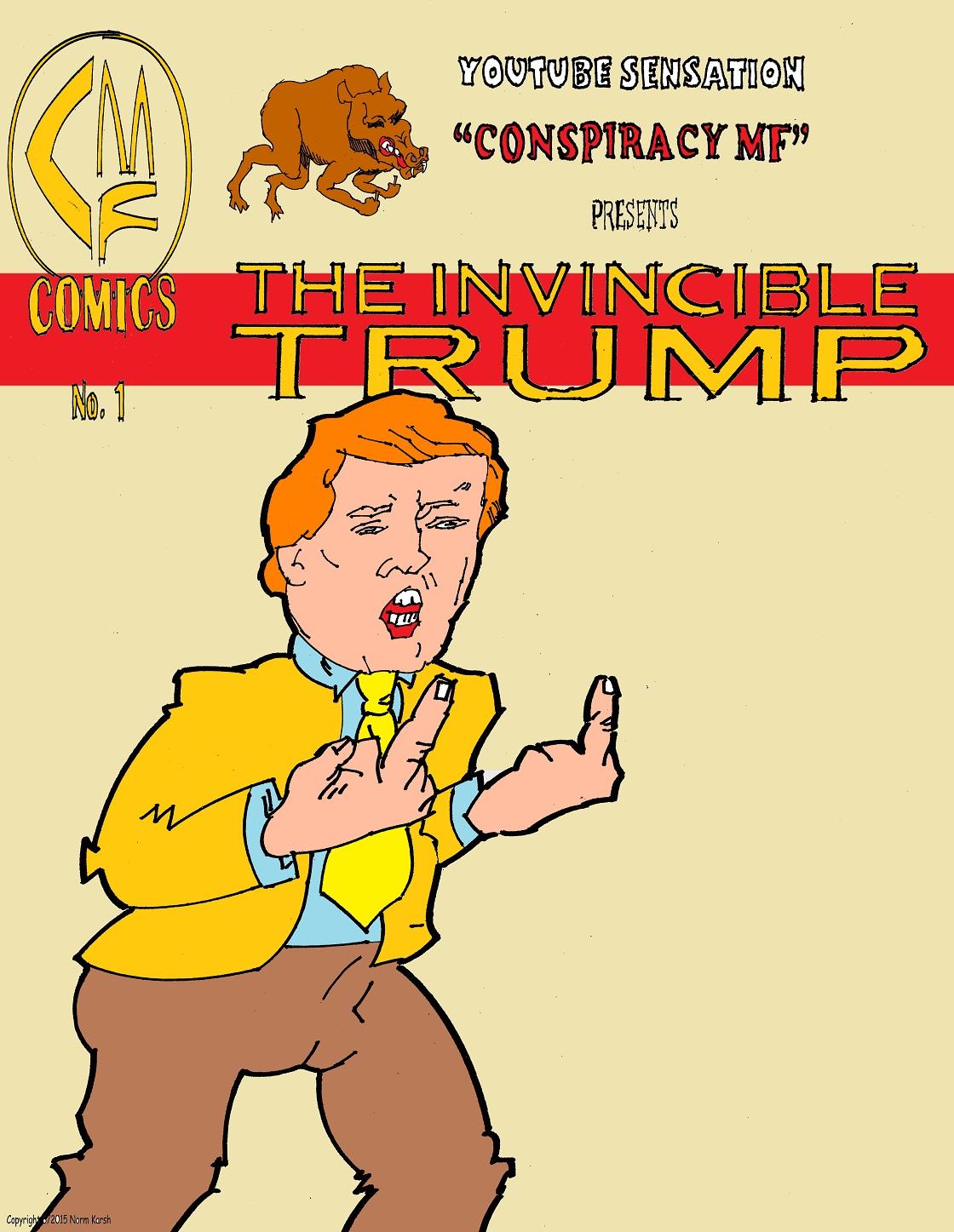 Donald Trump Adventures #1 (variant cover #1)
